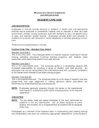dietary aide job description resume resume ideas