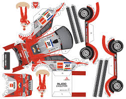 nissan nv200 template mitsubishi paper cars cartype