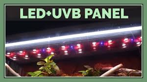 Zoo Med Lighting by Zoo Med Reptisun Led Uvb Panel Review An In Depth Look Youtube