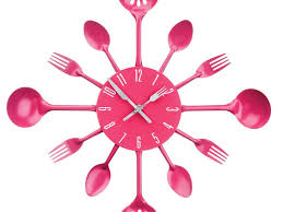 Feminine Clock - kitchen wall clock for your awesome kitchen decoration kitchen