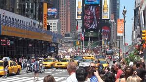 New York City Time Square Map by Times Square Manhattan New York Youtube