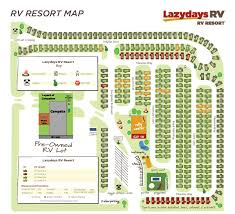 Florida Campgrounds Map by Lazydays