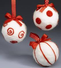felt christmas ornaments u2013 awesome homemade decoration for your tree