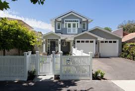 custom design home hamptons style transitional exterior