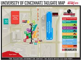 Ccm Campus Map University Of Cincinnati Official Athletic Site
