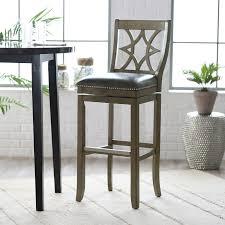 belham living oliver square seat swivel counter stool hayneedle