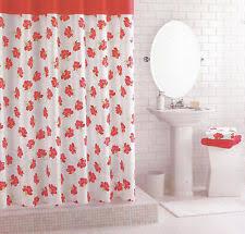 White Cotton Duck Shower Curtain Martha Stewart Shower Curtain Ebay
