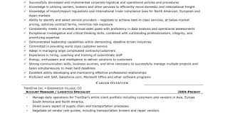 Logistics Resume Summary Operations Logistics Manager Resume Samples Resume Sample Cover