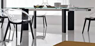 tavoli sala da pranzo calligaris calligaris tower wood tavolo allungabile in vetro stilopolis