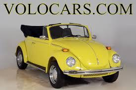 volkswagen bug yellow 1971 volkswagen super beetle volo auto museum
