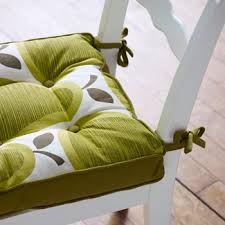 apple patterened kitchen chair seat cushions chair pads u0026 cushions