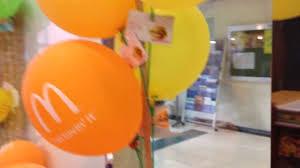 free balloons free balloons at mcdonald s