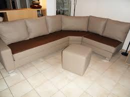 relooker un canapé en cuir canapé d angle 3 1 2 en cuir de mr a tendance chic tapissier