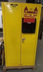 Justrite Flammable Liquid Storage Cabinet Just Rite 25995 Flammable Liquid Storage Cabinet Lot 11967