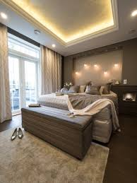 master bedroom with beautiful iiris led lights and indirect light