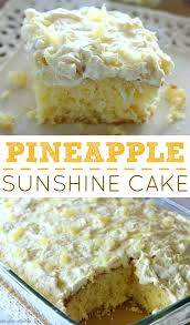 pineapple sunshine cake recipe cream frosting frosting and cake