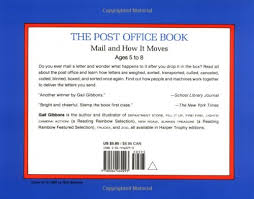 amazon com the post office book mail and how it moves