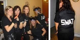 Swat Team Halloween Costume Handsprings Bridgetown Halloween History
