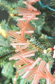 straw christmas garland