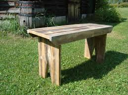 Backyard Bench Ideas by 18 Wood Benches Barn Wood Bench Plans Barn Wood Bench Plans Rustic