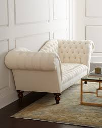 Old Hickory Tannery Chaise Old Hickory Tannery Ellsworth Neutral Recamier Sofa
