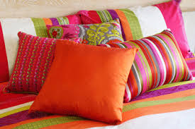 throw decorative pillows add a splash of color and design to any room