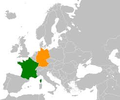 Show Me A Map Of Germany france u2013germany relations wikipedia
