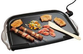cuisine à la plancha électrique plancha electrique simeo cv302 la plancha fonte conviviale