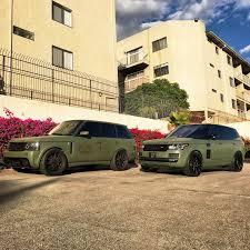 matte range rover 2017 rdbla matte army green range rover rdb la five star tires