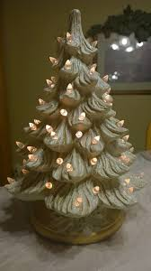 clinton pa christmas lights cream and gold tree white glitter and white lights made at ruth s