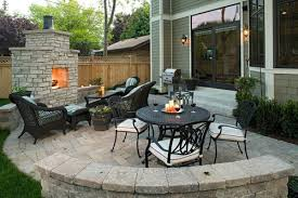 photo of patio ideas for small gardens small space back yard patio