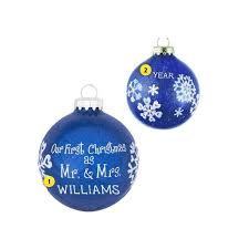 our as mr mrs ornament callisters