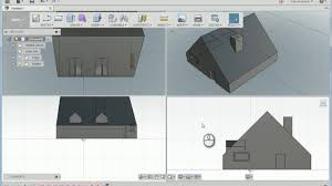 Home Design Autodesk Modeling A Simple House In Autodesk Fusion 360 Youtube