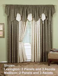 today u0027s curtain madison ascot valance
