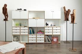 Wohnzimmer Regalsystem Regalsystem Mit Türen Und Schubladen Einrichtung Regal
