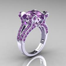 amethyst wedding rings 29 best amethyst wedding rings images on necklaces