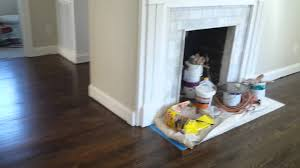 Laminate Flooring Installation Charlotte Nc Dark Walnut In Charlotte Nc Pt 2 Hardwood Floor Refinishing