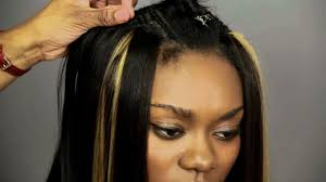 sew in weaves with bangs 100 sew in weave hairstyles full sew weave edges side part