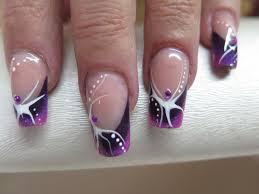 dessin sur ongle en gel nails bamboo nail art