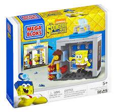 amazon com mega bloks the spongebob movie sponge out of water