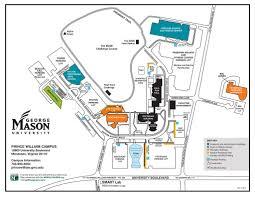 George Washington University Map by George Mason University Maplets
