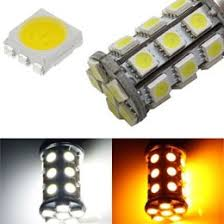 27 smd 1157 3157 7443 switchback led turn signal light bulbs