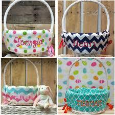 easter basket liners personalized basket liner easter basket liner personalized by fourbugsinarug
