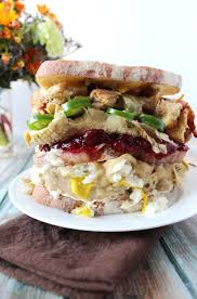 thanksgiving leftovers sandwich the newlyweds cookbook