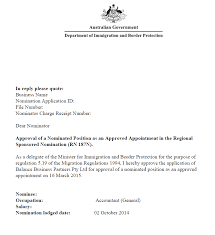regional sponsored migration scheme rsms u2013 subclass 187 visa