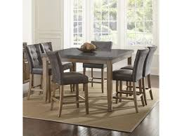 Steve Silver Dining Room Furniture Steve Silver Debby 7 Piece Transitional Square Table And Chair Set