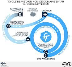 bureau d enregistrement nom de domaine connaissez vous le cycle de vie d un nom de domaine en fr