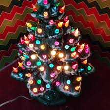 lighted ceramic christmas tree great atlantic lighted ceramic