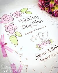 wedding coloring books wedding activities kids squishy cute