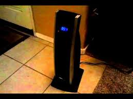 tower fan heater combo bionaire ceramic oscillating tower heater youtube